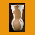 115. Large vase with nude women